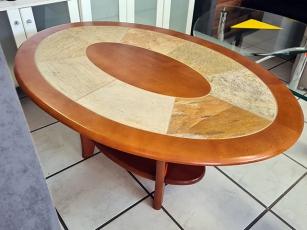 Massivholz Sideboard mit Spiegel + zwei Vitrinen im Landhausstil (gebraucht)