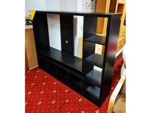 Bücherregal Dico 1347 mit 2 Böden 78cm weiss