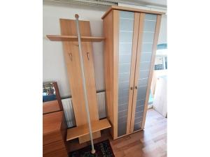 Garderobe 3-teilig weiß
