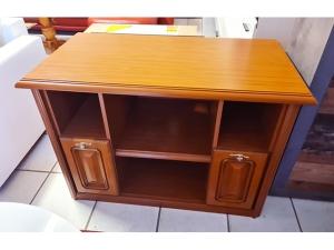 Garderobe mit Spiegel zwetschke-weiss (gebraucht)