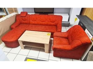 Stilmöbel Bank + 2 Stühle nussbaum (gebraucht)
