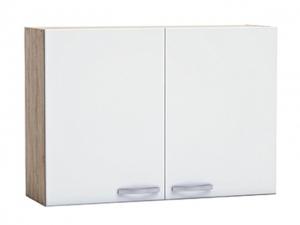 Küchenhängeschrank Bianca 391710 100cm sonoma-eiche/weiss