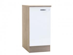 Küchenunterschrank Bianca 391700 40cm sonoma-eiche/weiss