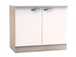 Küchenunterschrank Bianca 391702 100cm sonoma-eiche/weiss