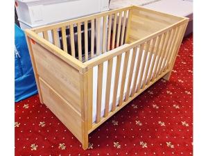 Einzelbett mit Matratze und Metallrohrrahmen silber (gebraucht)