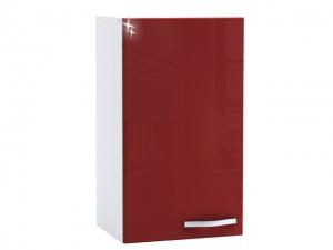 Küchenhängeschrank Cherry 491504 40cm hochglanz-rot/weiss