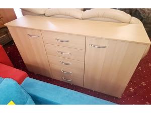 Kleiderschrank 2-türig buche (gebraucht)