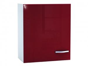 Küchenhängeschrank Cherry 491507 60cm hochglanz-rot/weiss