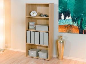 Bücherregal Parini 3 mit 3 Böden sonoma-eiche