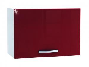 Wrasenhängeschrank Cherry 491505 60 cm hochglanz-rot/weiss