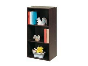 Bücherregal Polykub 5607 mit 2 Böden choco