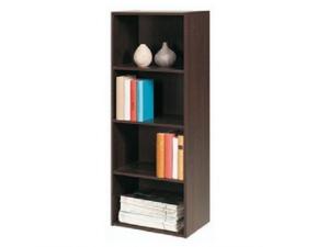 Bücherregal Polykub 5608 mit 3 Böden choco