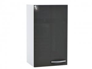 Küchenhängeschrank Spicy 391804 40cm hochglanz-grau/weiss