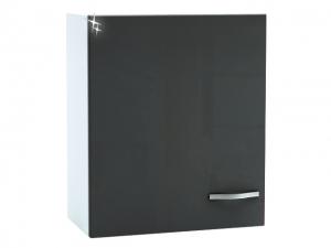Küchenhängeschrank Spicy 391807 60cm hochglanz-grau/weiss