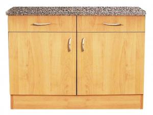 Küchenunterschrank Regina 107-100 100cm buche