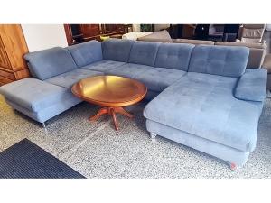 Hochwertige Couch 3/2/1 in Wildlederoptik mit elektrischer Relax-Funktionen (gebraucht)