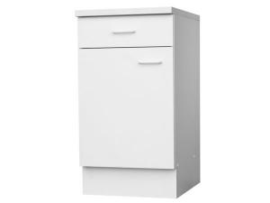 Küchenunterschrank Top 107-50 50cm weiss