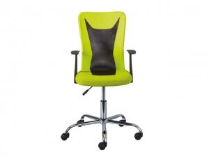 Bürostuhl Donny höhenverstellbar grün/schwarz