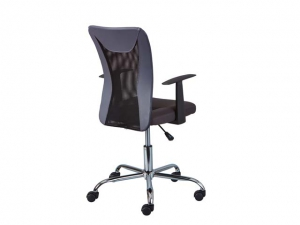 Bürostuhl Donny höhenverstellbar grau/schwarz