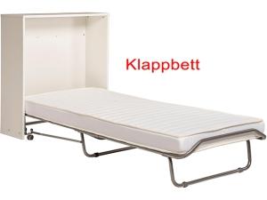 Einzelbett mit hochwertiger Matratze, Rollrost und Nachtkommode weiß (gebraucht)