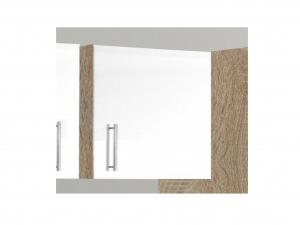 Küchenhängeschrank Santorin 103-50 50cm sonoma-eiche / hochglanz-weiss