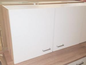 Küchenhängeschrank Sonea 103-100 100cm sonoma-eiche / matt-weiss