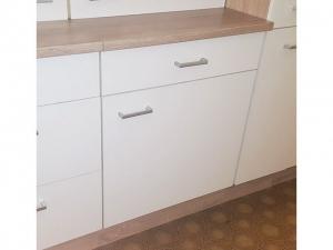 Küchenunterschrank Sonea 107-60 60cm sonoma-eiche / matt-weiss