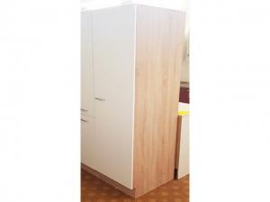 Küchenwirtschaftsschrank Sonea 119-50 50cm sonoma-eiche / matt-weiss