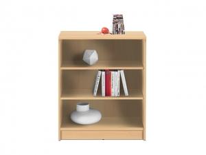 Bücherregal Optimus 2 buche mit 2 Einlegeböden