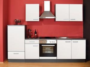 Küchenblock Madeira ohne Geräte wildeiche / weiss (NEU)